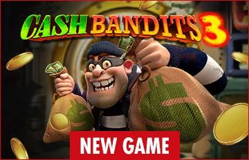 New Game Cash Bandits 3 Intertops Casino Red
